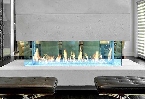 Gas Fireplaces Davinci Custom